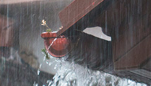 What problems do overflowing gutters cause